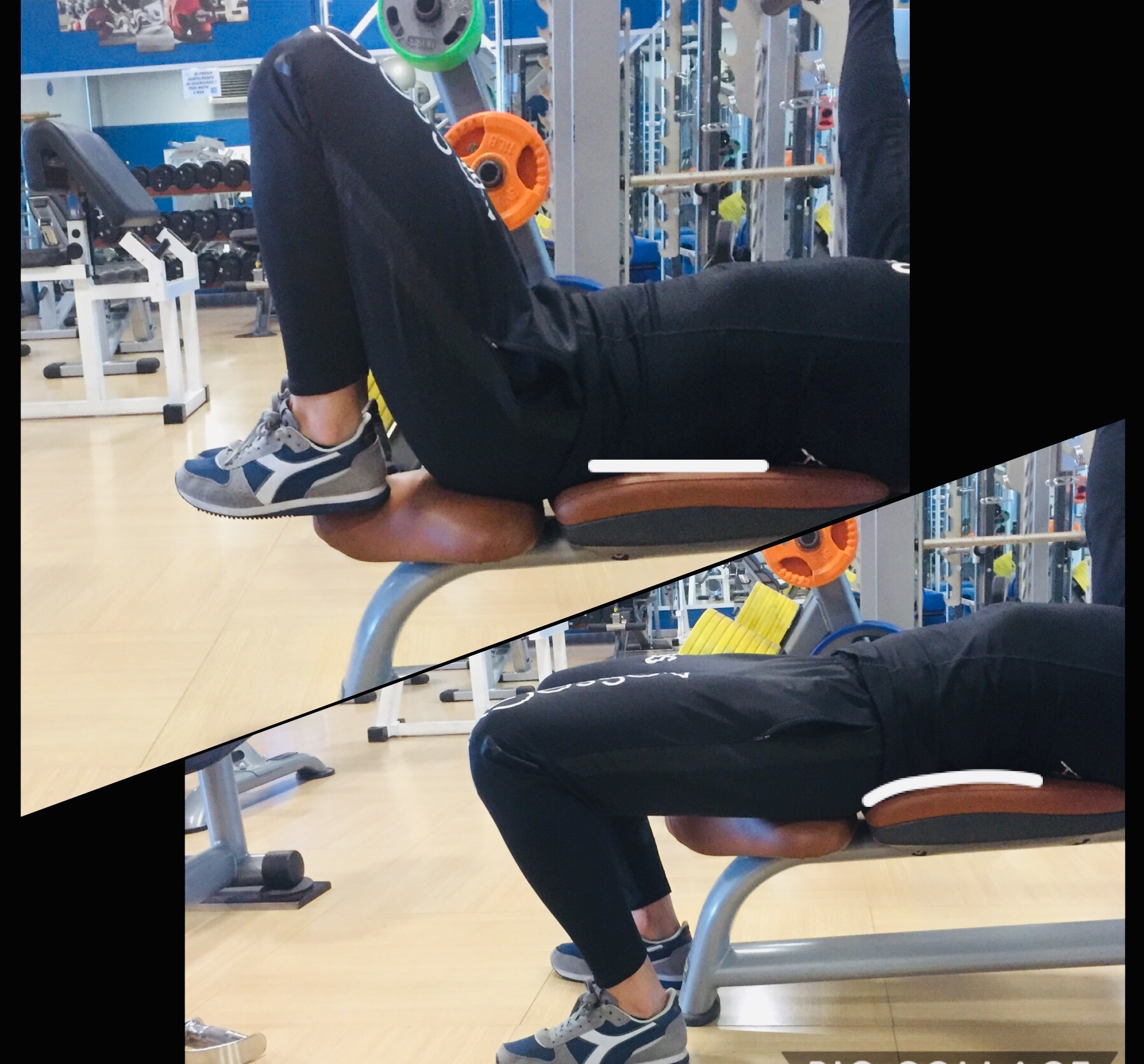 PANCA PIANA: piedi a terra o gambe sollevate?